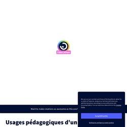 Usages pédagogiques d'un iPad par jean-philippe.mary sur Genially