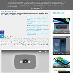 Powtoon : pour créer des vidéos pédagogiques d'animation et des présentations dans le style cartoon
