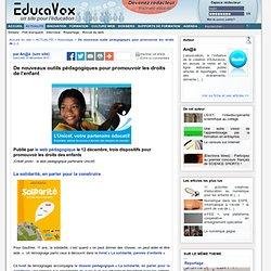 De nouveaux outils pédagogiques pour promouvoir les droits de l'enfant