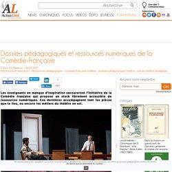 Dossiers pédagogiques et ressources numériques de la Comédie-Française