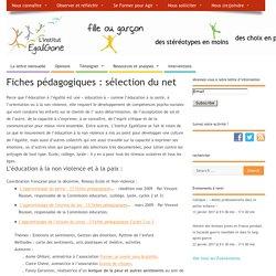 Fiches pédagogiques : sélection du net – L'institut EgaliGone