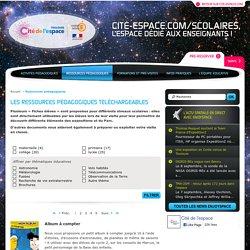 Ressources pédagogiques téléchargeables - tous-niveaux - Cité de l'espace éducation