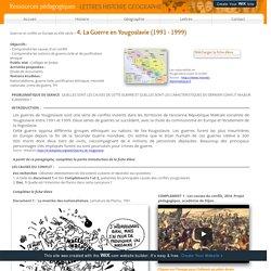 Ressources pédagogiques Lettres, Histoire, Géographie