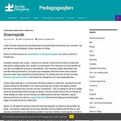 Grannspråk - Pedagogsajten Familjen Helsingborg