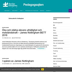 Du sökte efter Nottingham - Pedagogsajten Familjen Helsingborg