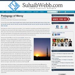 Pedagogy of Mercy