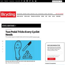 Two Pedal Tricks Every Cyclist Needs