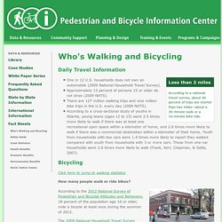 Pedestrian & Bicycle Information Center