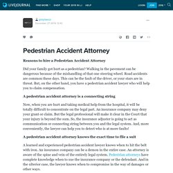 Pedestrian Accident Attorney: greylawus — LiveJournal