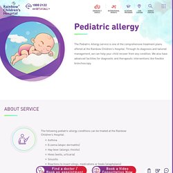 When does your child need a pediatric allergy specialist?