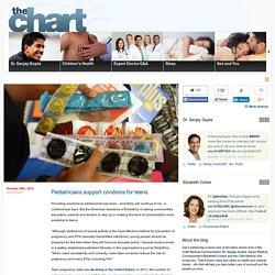 Pediatricians support condoms for teens