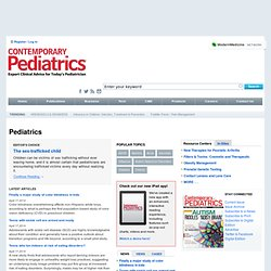 Contemporary Pediatrics - Home Page