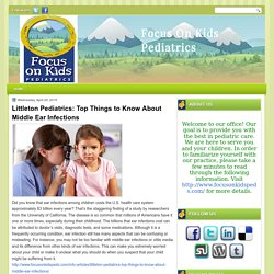 Littleton Pediatrics: Top Things to Know About Middle Ear Infections