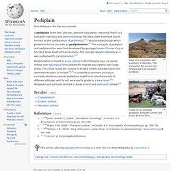 Pediplain