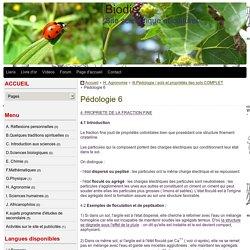 Pédologie 6