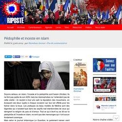 Pédophilie et inceste en islam