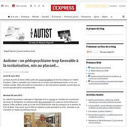 Autisme : un pédopsychiatre trop favorable à la scolarisation, mis au placard