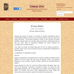 El leve Pedro - Enrique Anderson Imbert