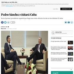 Pedro Sánchez visitará Cuba
