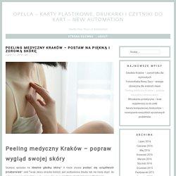 Peeling medyczny Kraków
