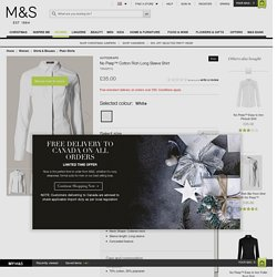 No Peep™ Cotton Rich Long Sleeve Shirt