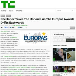 PeerIndex Takes The Honours As The Europas Awards Drifts Eastwards