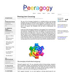 Peering Into Learning