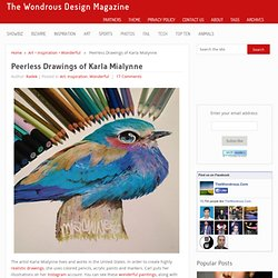 Peerless Drawings of Karla Mialynne
