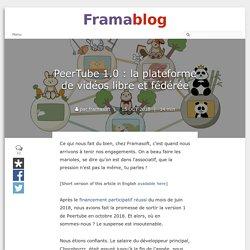 PeerTube : plateforme de vidéos libre et fédérée