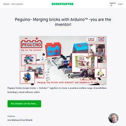 Peguino – merging toy bricks with Arduino™ by Urs Markus Ernst Streidl
