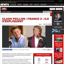 Clash Peillon Chabot France 2 explications