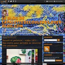 vidéo 1871 : Des outils pour peindre ou dessiner une pastèque.