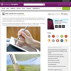 iPad : peindre avec un pinceau