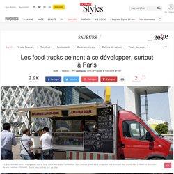 Les food trucks peinent à se développer, surtout à Paris