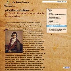 b) David: Un peintre au service de la révolution - La Révolution Française