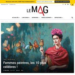 Femmes peintres, les plus célèbres