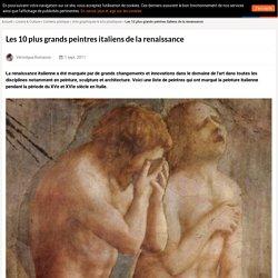 Les 10 plus grands peintres italiens de la renaissance