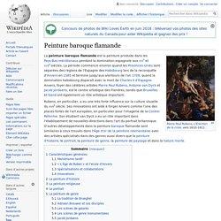 Peinture baroque flamande