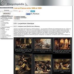 La peinture classique [L'art en France entre 1800 et 1850->L'art en France entre 1800 et 1850]