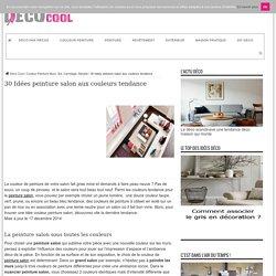 30 Idées Peinture Salon aux Couleurs Tendance