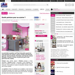 peinture cuisine pearltrees. Black Bedroom Furniture Sets. Home Design Ideas