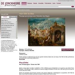 Peinture flamande et tableaux de maîtres anciens par la Galerie De Jonckheere