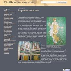 La peinture romaine - Civilisation romaine