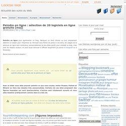 Peindre en ligne et peinture en ligne : sélection de 20 logiciels en ligne à ...