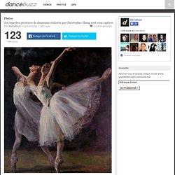 Ces superbes peintures de danseuses réalisées par Christopher Zhang vont vous captiver