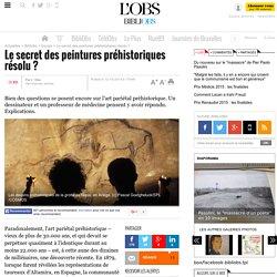 Le secret des peintures préhistoriques résolu ? - 12 octobre 2014