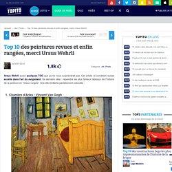 Top 10 des peintures revues et enfin rangées, merci Ursus Wehrli