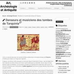 Coup de coeur : les peintures des tombes de Tarquinia
