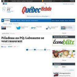 Régis Labeaume réagit à la candidature de Pierre Karl Péladeau