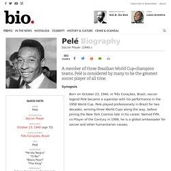 Pelé - Soccer Player